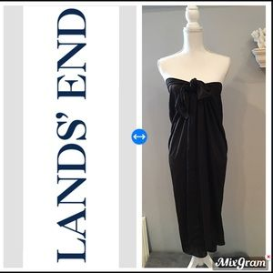 Lands End swim coverup in chocolate brown sz L/XL